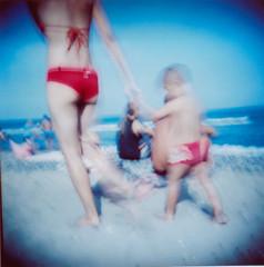 "almeria-08-2 (""chapeau"") Tags: holga lomography toycamera playa almeria ola lasnegras"