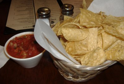 Cantina Lounge Chips and Salsa