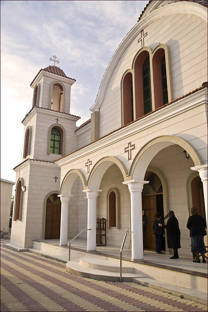 Three Hierarchs church, Troulloi village, Cyprus