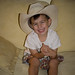 Mason in Jim's Hat