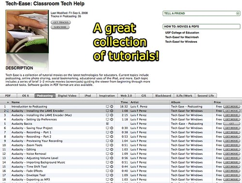 Tech-Ease: Classroom Tech Help on iTunes