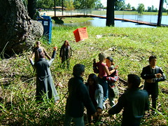 On Location 4/4 (Doctor Beef) Tags: toy actionfigure doctorwho thedoctor ood primeval claudiabrown captainjackharkness stephenhart donnanoble connortemple abbymaitland helencutter professornickcutter sirjameslester