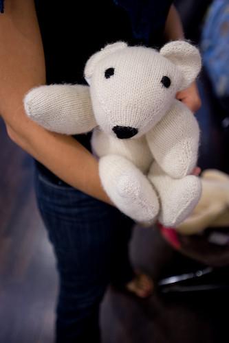Knit Polar Bear