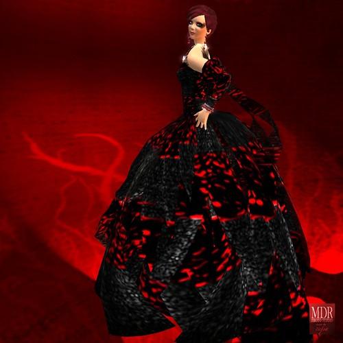 black swan gown