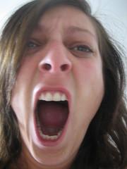 Yawn! (Sakena) Tags: me selfportrait sakena sakenajamig