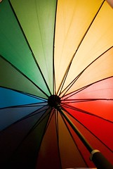 rainbow (miaofu) Tags: sunshine umbrella colorful pentax k10d aplusphoto