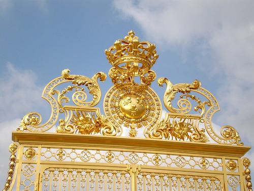 Versailles Chateau - Gold Gate