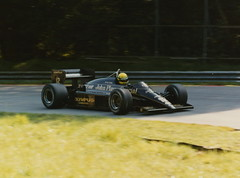 Ayrton Senna Lotus Renault 97T F1 1985 Brands Hatch (Antsphoto) Tags: uk slr classic car speed 35mm williams lotus britain norfolk champion f1 racing historic renault grandprix turbo mclaren formulaone british hatch canonae1 1980s 1985 motorsports formula1 senna gp brands groundeffects motorsport racingcar turbocharged autosport brandshatch kodakfilm ayrton jps worldchampion ayrtonsenna blackgold carracing racingdriver toleman motoracing johnplayerspecial f1car formulaonecar 97t formula1car jpslotus teamlotus lotusf1 tamron70210mm f1worldchampionship lotusrenault grandprixcar antsphoto canonae135mmslr sennalotus fiaformulaoneworldchampionship f1motoracing formula11980s anthonyfosh formula1turbo