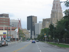 Entering downtown Buffalo, NY! See the notes! (William Wilson loves Belinda) Tags: street city travel bridge trees winter food brown white snow ny macro building tree male green tower history fall love nature water skyline architecture female night america truck portraits buildings season niagarafalls landscapes buffalo construction travels funny driving action towers tan niagara journey trucks interstate westernnewyork wny sculpure niagarasquare travelingtolls