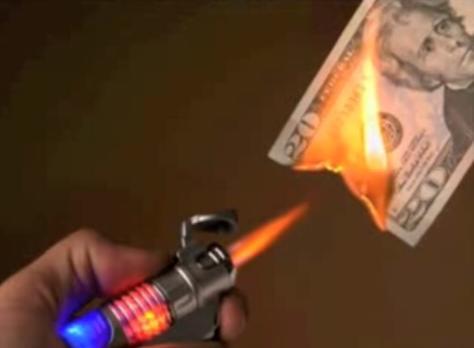 Burn Money by purpleslog, on Flickr