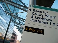 DLR Signage