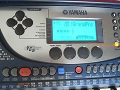 Yamaha電子琴1