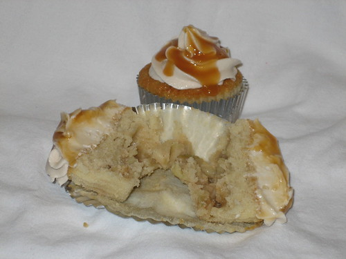 White Cheddar Apple Pie Cupcake