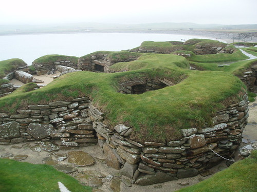 Excavations at Skara Brae