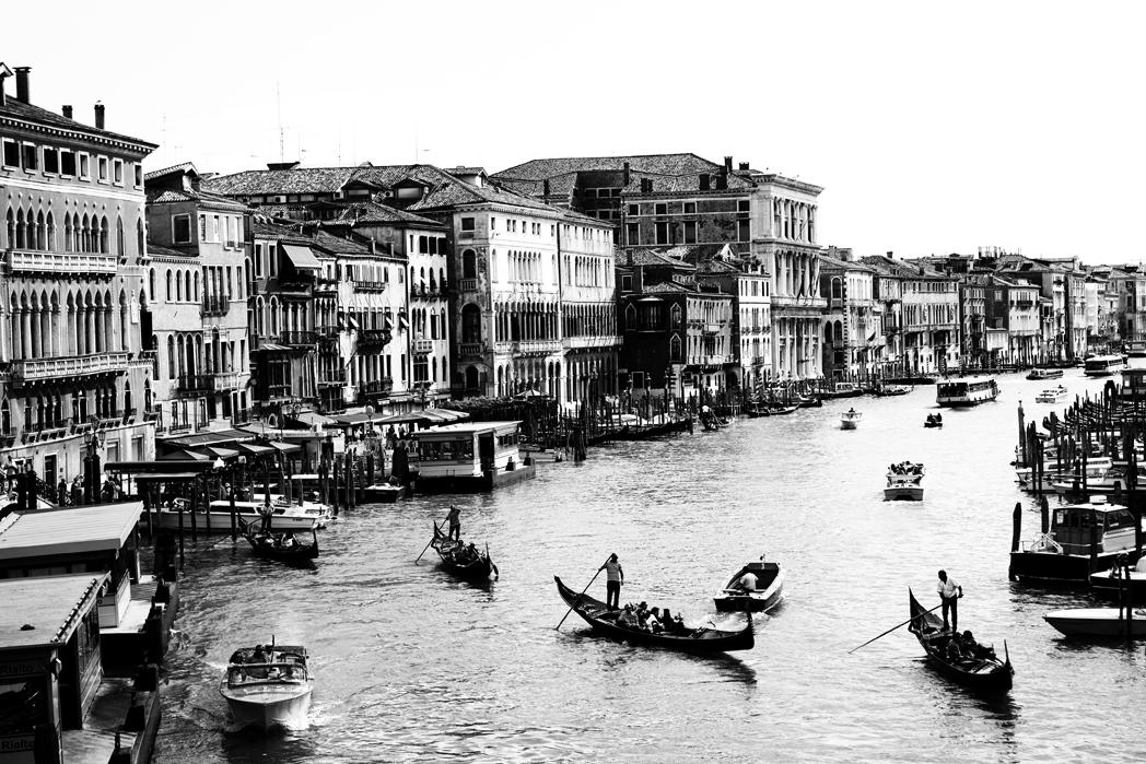 Gondola Serenade in Venice, Italy
