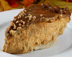 Pumpkin Cheese Pie with Toffee and Caramel Swirl (stickygooeychef) Tags: pumpkin cheesecake desserts caramel pies sweets dulcedeleche
