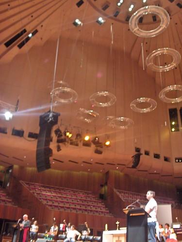 Dentro del Opera House