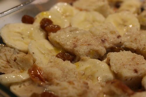 raw bread pudding