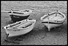 La Niña la Pinta y la Santamaría versión BN (KarolaPonmeUnRonConKola) Tags: sea blackandwhite bw españa white black blancoynegro blanco beach mar spain nikon barca barco negro playa catalonia bn catalunya barcas maresme cataluña karol blancinegre mataro espanya d40 cruzadas nikond40 a3b paisajemaritimo goldcruzadas karolaponmeunronconkola