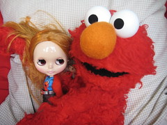 Elmo loves me