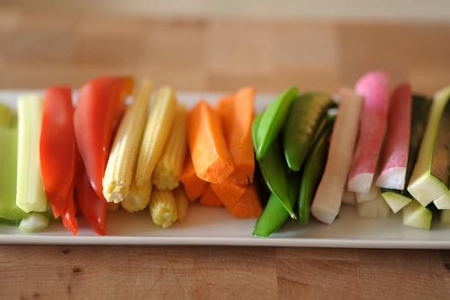 crudite platter - cookthink