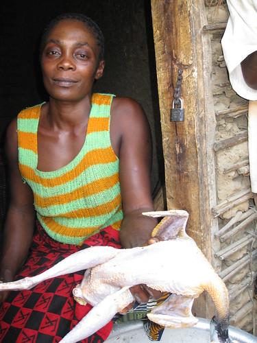 Chumbechume, Maria with Kanga