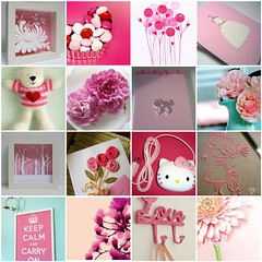 Pinkalicious (CamilaRD) Tags: pink fdsflickrtoys flickr mosaic favourites pinkalicious