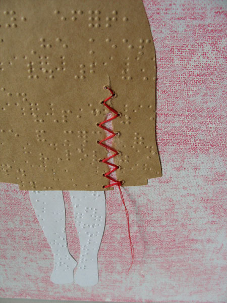 mend: dress (detail)