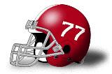 HSU Football Helmet