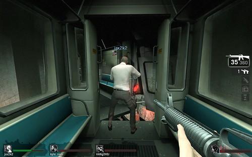 Left 4 Dead metro