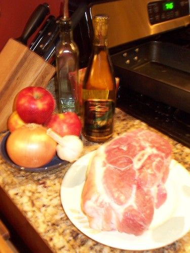 Ingredients for my pork shoulder