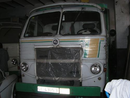 Frontal d'un Pegaso 1062