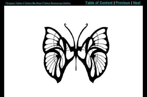 free tattoo designs - butterflies