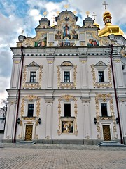 Kiev-Pechersk Lavra 7 (Grete Howard) Tags: cathedral religion ukraine caves monks christianity catacombs kiev kievpechersklavra cavescomplex