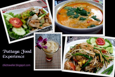Pattaya Beach Thailand food experience