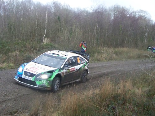 wales rally gb 2008 shakedown Valentino Rossi by younger2007.
