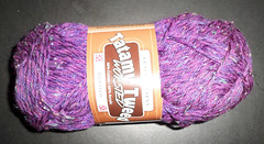 Tatamy Tweed - worsted - purple