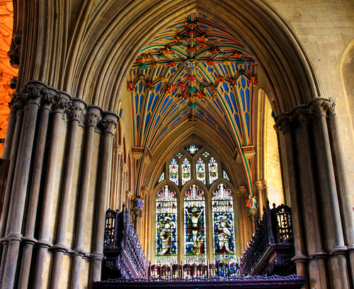 Chapel Detail  - Winchester Cathedral by you.