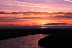 A beautiful sunset :) (Ernst-Jan de Vries) Tags: pink blue sunset sky orange water clouds canon landscape canal zonsondergang blauw wolken kanaal lucht tamron oranje landschap roze tamron1750f28 nieuwweerdinge canoneos400d skycloudssun ernstjandevries