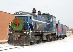 Progressive Rail Santa Train; Richfield, MN (Ottergoose) Tags: caboose santatrain pgr progressiverail