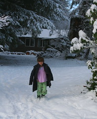 Snow Day (jkeenan501) Tags: snow oregon studio walking day pjs haley snowday parka inoregon oforegon