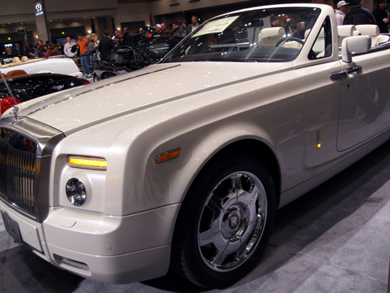 Rolls Royce Convertible (Click to enlarge)