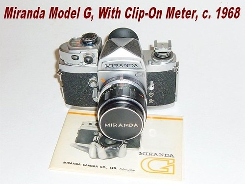 Miranda 'G', With Clip-On Meter