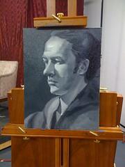 oil painting again (kozyndan) Tags: portrait painting paint study oil iphone kozy