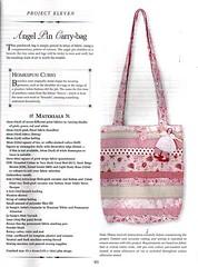 Molde Bolsa Patch (annalobolsas) Tags: arte handmade sewing artesanato patchwork bolsa molde tecido costura moldes annalo