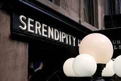 New York - Serendipity (Caroline Forest Images) Tags: nyc newyorkcity newyork classic restaurant spring cafe manhattan stainedglass landmark lamps serendipity uppereastside frozenhotchocolate