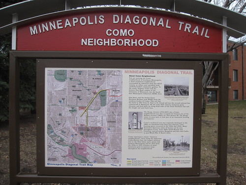 Minneapolis Diagonal Trail - Como Neighborhood