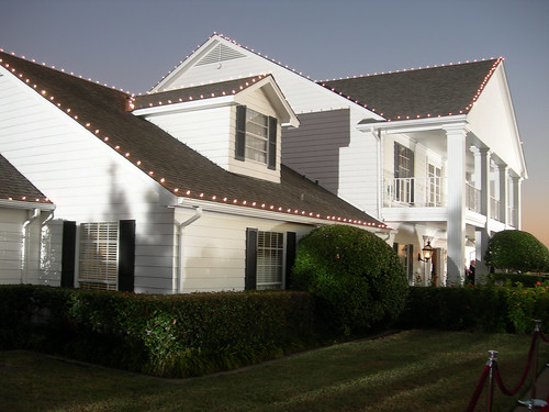 Southfork Ranch's mansion house