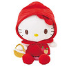 HK little red riding hood plush (iheartkitty) Tags: red cute japan japanese little hellokitty plush sanrio riding kawaii hood