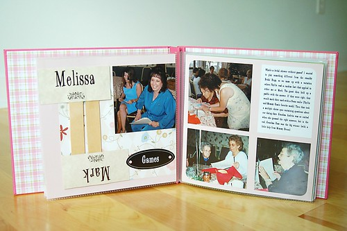 Bridal Shower Scrapbook:  Games